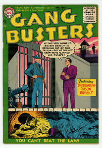 JERRY WEIST ESTATE: GANGBUSTERS #50 (DC 1956) FN/VF condition NO RES