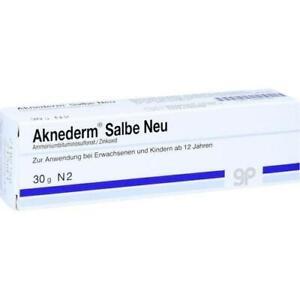 AKNEDERM Salbe Neu 30 g PZN 4889186