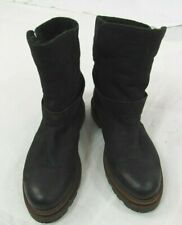 Hudson Black Leather Ankle Boot Size 36/6