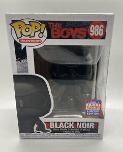 SDCC 2021 FUNKO POP BLACK NOIR FIGURE THE BOYS 986
