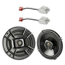 "2x Polk 6.5"" 300W 2 Way ATV Speakers, 2x Metra Harness (Select Chrysler/Dodge)"