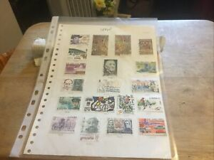 Spain Used Stamps Lot