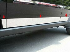 2007-2011 DODGE NITRO 6 Piece Stainless Steel Rocker Panel Trim, Lower Kit