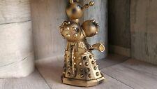 Dr Who custom gold and black  7 inch dalek