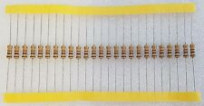 25pcs 1000 / 1K Ohm (1K) 0.5W Carbon Film Resistor 5% Flameproof