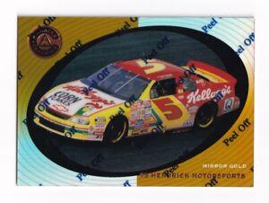 1997 Pinnacle Certified MIRROR GOLD #39 Terry Labonte's Car SUPER SCARCE