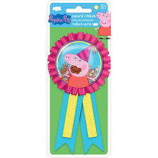 Peppa Pig Party Favor Prize Confetti Award Ribbon Badge