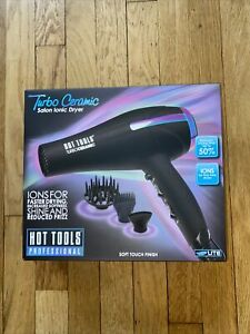 Hot Tools Hair Dryer Turbo Ceramic Salon Iconic Professional
