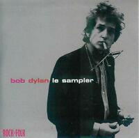 FRENCH CD PROMO BOB DYLAN LE SAMPLER CARDBOARD SLEEVE RARE COLLECTOR PROMO 1997