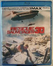 Rescue [Blu-ray 3D + Blu-ray] (2012 - e one - Canadian Import) ~ IMAX