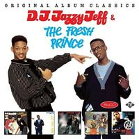 DJ JAZZY JEFF & THE FRESH PRINCE - ORIGINAL ALBUM CLASSICS  5 CD NEW+