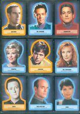 Star Trek Inflexions  45 Throwback Sticker Insert Set