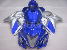 Fairing Fit for Suzuki Hayabusa 2008-2015 GSXR1300 Injection Blue Plastic jAL
