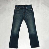 Mens LEVIS 527 Jeans Slim Bootcut Fit Zip Fly Denim Low rise blue Size W32 L34