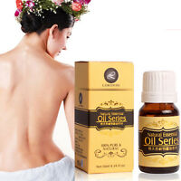 10ml Pure Natural Essential Oils Carrier Oils Body Massage oil Aromatherapy New