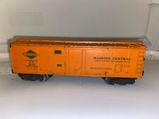 Vintage American Flyer Illinois Central Ventilated Refrigerator Car 923