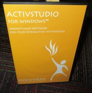 ACTIVSTUDIO FOR WINDOWS PROMETHEAN SOFTWARE FOR YOUR WHITEBOARD VER.3.5.26