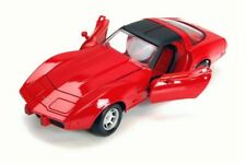 1979 CHEVY CORVETTE RED 1/24 SCALE DIECAST CAR BY MOTOR MAX 73244/16D