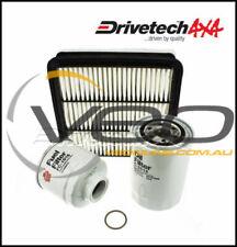 MITSUBISHI TRITON ML/MN 3.2L TD 7/06-7/09 DRIVETECH 4X4 FILTER SERVICE KIT