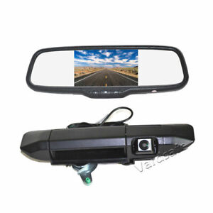 Tailgate Reverse Backup Camera & 5'' Rear View Mirror Monitor for Toyota Tacoma