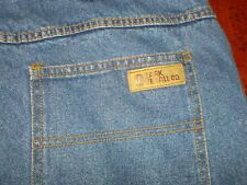 OZARK OVERALL CO Relaxed Straight Jeans 42x30 100% cotton