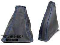 Noir cuir véritable manuel gear /& frein à main gaiter fits skyline R32 1989-1994
