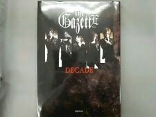 The Gazette - DECADE anniversary book -  Visual Kei Black Moral Ruki Reita