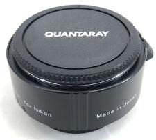 Quantaray 2X AF Teleconverter Lens For Nikon Made In Japan