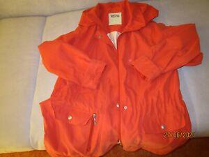 Sportliche Damen  Jacke mit Kapuze, -orange- Gr. 42