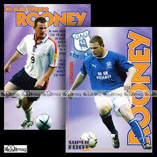 ROONEY WAYNE (EVERTON) - Fiche Football SF