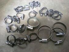 TRIUMPH DOLOMITE SPRINT ** tubo dell'acqua Jubilee Clip Kit * * Nuovo Acciaio Inox