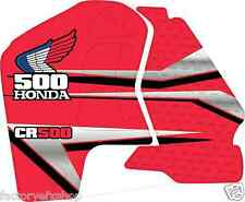 Cr500 91-02 Custom Graphic Kit cCr 500 Shroud Decal Sticker CR500R Graphics Red