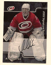 ARTURS IRBE IN THE GAME ITG FINAL VAULT ON CARD AUTO