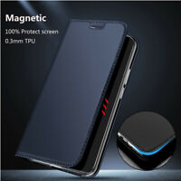 For Huawei Honor 10 9 8 Lite 8X Magnetic PU Leather Case Flip Wallet Card Cover
