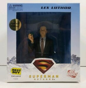 DC Direct Superman Returns Lex Luthor Best Buy Limited Edition Exclusive Bust