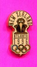 1996 OLYMPIC NEW ZEALAND PIN NOC PIN ATLANTA OLYMPIC GAMES PIN