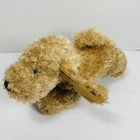 Gund BARKY BROWN SHAGGY PUPPY DOG Stuffed Animal PLUSH SOFT TOY Cute 40815