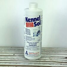 KennelSol Germicidal Detergent & Deodorant / Cleans Disinfects Deodorizes 1 Pint