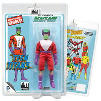 DC Comics Teen Titans Mego Style Beast Boy Action Figure (Green)