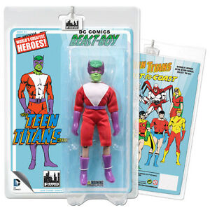 DC Comics Teen Titans Retro Style Beast Boy Action Figure (Green)