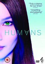 HUMANS SERIES ONE 1 WILLIAM HURT 2 DISC BOX SET CHANNEL 4 UK 2015 DVD VGC L NEW