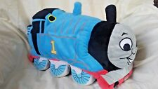 Thomas the Tank Engine Train Bean Bag Pillow Blue 2009 15 inches Tall Plush