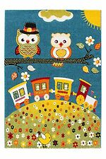 NEW  Kids Bedroom Rug BUTTERFLY BOYS & Girls  Size 120x170 NOW 30% 0FF