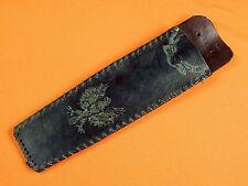 Polish Poland Custom Hand Made Eagle Design Knife Leather Sheath Scabbard Case