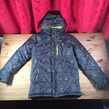 Columbia Alpine Free Fall Jacket Boy's Size XL Waterproof Grey Omni Shield