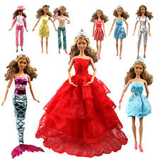 110 Barbie Doll Accessories Clothes Party Gown Outfits Shoes Hanger Magic Wand