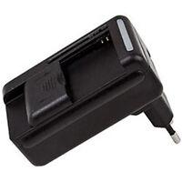 Universal Akku Accu Battery Charger Ladegerät für Handy Kameraakku und USB Port
