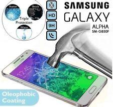 100% véritable verre trempé 9H Protège Écran SM-G850 Pour Samsung Galaxy Alpha
