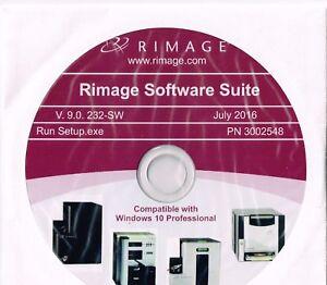 RIMAGE SOFTWARE SUITE V.9.0.232-SW - WINDOWS 10 PRO EV 400/600