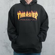 Men Women Hoodie Sweater Hip-hop Skateboard Thrasher Sweatshirts Pullover Coats